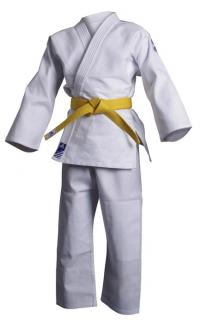 Judoanzug Club Gi von adidas, weiß   Kinder Judoanzug   Judo